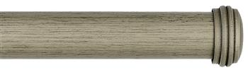 Byron & Byron Barnwood 35mm, 45mm & 55mm Wood Curtain Pole Endcap, Barnwood Grey