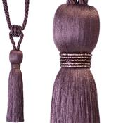 Jones Rope Curtain Tieback Milly, Cassis