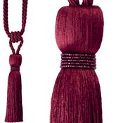 Jones Rope Curtain Tieback Milly, Wine