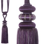 Jones Ensemble Collection Rope Curtain Tieback, Emperor Grape