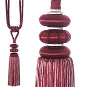 Jones Ensemble Collection Rope Curtain Tieback, Emperor Garnet