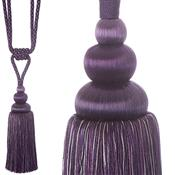 Jones Ensemble Collection Rope Curtain Tieback, Duchess Grape