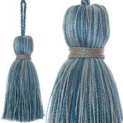 Jones Ensemble Collection Rope Curtain Key Tassel, Aquarius