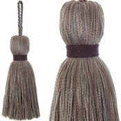 Jones Ensemble Collection Rope Curtain Key Tassel, Nut