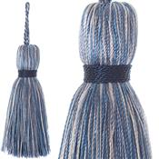 Jones Ensemble Collection Rope Curtain Key Tassel, Chambray