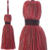 Jones Ensemble Collection Rope Curtain Key Tassel, Chilli