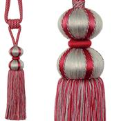 Jones Belezza Rope Curtain Tieback, Ruby