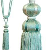 Jones Belezza Rope Curtain Tieback, Turquoise