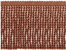 Jones Metallic Bullion Fringe Trimming, Bronze