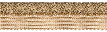 Jones Metallic Flanged Cord, Gold