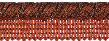 Jones Metallic Flanged Cord, Bronze