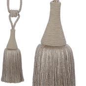 Hallis Colour Passion Trends Large Tassel Tieback, Silver Grey