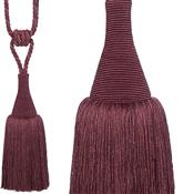 Hallis Colour Passion Trends Large Tassel Tieback, Damson