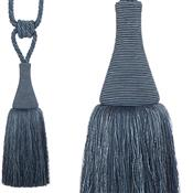Hallis Colour Passion Trends Large Tassel Tieback, Indigo