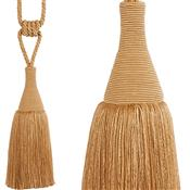 Hallis Colour Passion Trends Small Tassel Tieback, Warm Gold