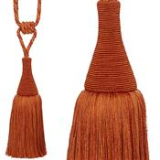 Hallis Colour Passion Trends Small Tassel Tieback, Tango