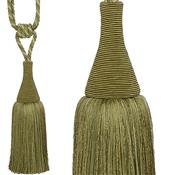 Hallis Colour Passion Trends Small Tassel Tieback, Lime Green