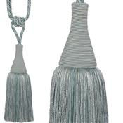 Hallis Colour Passion Trends Small Tassel Tieback, Duckegg