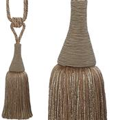 Hallis Colour Passion Trends Small Tassel Tieback, Jute