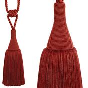 Hallis Colour Passion Trends Small Tassel Tieback, Terracotta