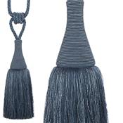 Hallis Colour Passion Trends Small Tassel Tieback, Indigo
