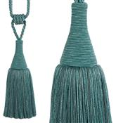 Hallis Colour Passion Trends Small Tassel Tieback, Azure