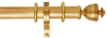 Byron Deluxe 55mm Curtain Pole Apaulia, Red/Gilt