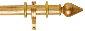 Byron Deluxe 55mm Curtain Pole Miciene, Red/Gilt