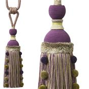 Jones Portobello Carnival Rope Tieback, Grape