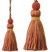 Jones Portobello Cushion Key Tassel, Russet