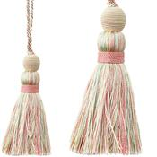 Jones Portobello Cushion Key Tassel, Sundae