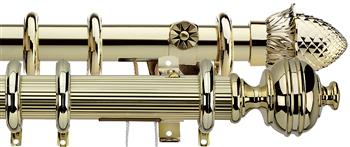 Integra Traditional Brass Curtain Poles