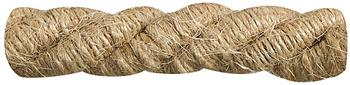 Rolls Naturals Cord Curtain Trimming, Jute