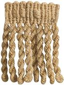 Rolls Naturals Bullion Fringe Curtain Trimming, Jute