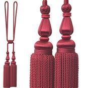 Jones Blenheim Rope Curtain Tieback, Crimson