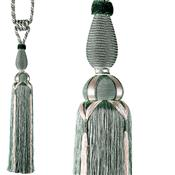 Harrison Drape Roaring 20's Curtain Tieback, Charleston Envy
