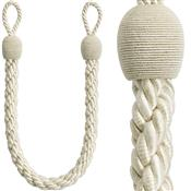Rolls Reflections Small Rope Tieback Embrace, Natural Ivory