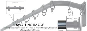 Cameron Fuller 19mm French Pole Chrome