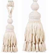 Rolls Naturals Large Rope Curtain Tieback, Natural