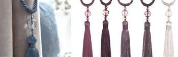 Jones Pixie Rope Curtain Tieback Collection