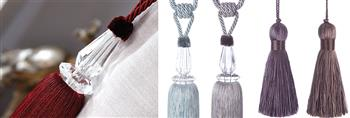 Jones Shard Rope Curtain Tieback Collection
