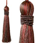 Jones Curtain Rope Key Tassel Metallic, Bronze