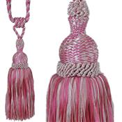 Jones Rope Curtain Tieback Interlude, Cerise