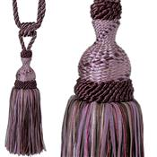 Jones Rope Curtain Tieback Interlude, Aubergine
