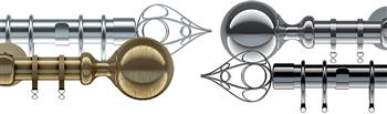 Speedy Divine, Allure & Ares 28mm Metal Curtain Poles