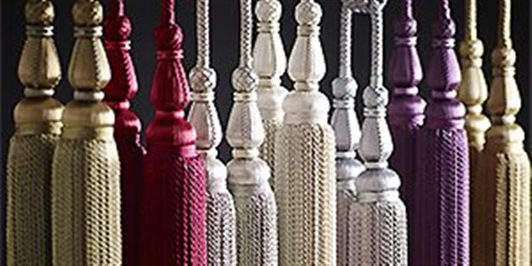 Jones Blenheim Rope Curtain Tiebacks