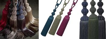 Jones Bexley Rope Curtain Tiebacks