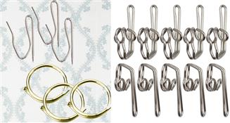 Rings & Curtain Hooks