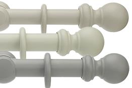 Honister 28mm, 35mm & 50mm Wood Curtain Poles