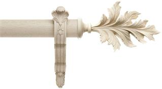 Alison Davies Acanthus Vintage 45mm Pole French Bracket, Calico, Pamplemousse
